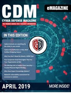Cyber Defense Magazine - April 2019