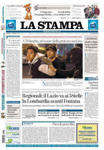 La Stampa Torino Provincia e Canavese - 12 Gennaio 2018