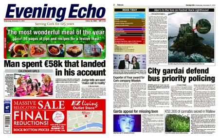 Evening Echo – November 21, 2018