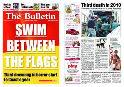 The Gold Coast Bulletin – January 13, 2010