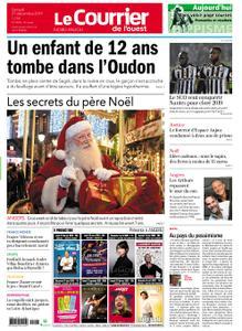Le Courrier de l'Ouest Nord Anjou – 21 décembre 2019