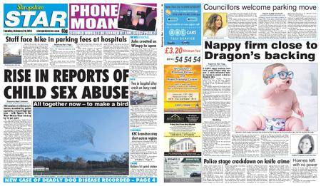 Shropshire Star Shrewsbury Edition – February 20, 2018