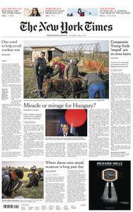International New York Times - 05 April 2018