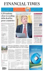 Financial Times Middle East - April 13, 2020