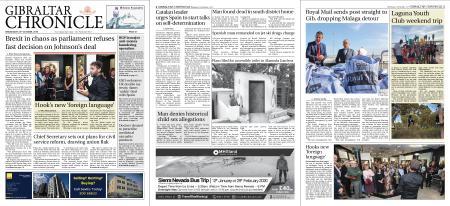 Gibraltar Chronicle – 23 October 2019
