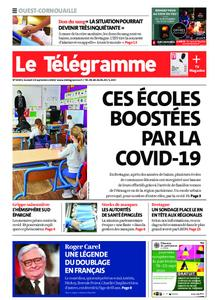 Le Télégramme Ouest Cornouaille – 19 septembre 2020