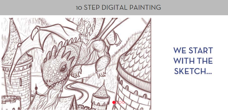 SVS Learn - 10 Step Digital Painting (2015)