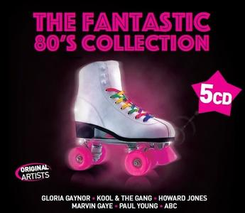 VA - The Fantastic - 80's Collection (5CD, 2019)