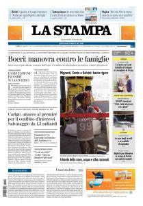La Stampa Torino Provincia e Canavese - 9 Gennaio 2019