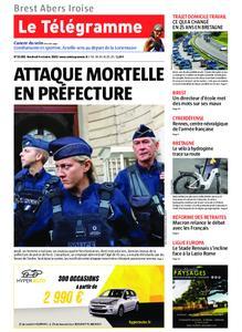 Le Télégramme Brest Abers Iroise – 04 octobre 2019