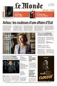 Le Monde du Samedi 14 Octobre 2017