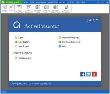 ActivePresenter Professional Edition 6.1.0 Multilingual + Portable