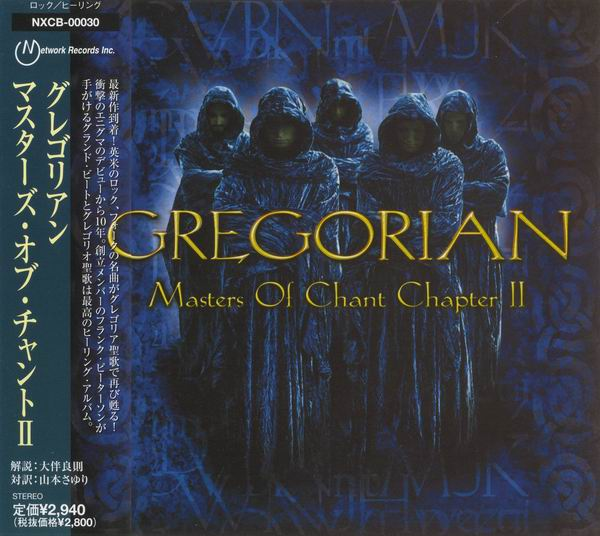 Gregorian - Masters Of Chant Chapter II (2001) [Japanese Edition]