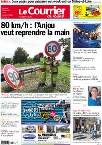 Le Courrier de l'Ouest Nord Anjou – 17 mai 2019