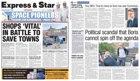 Express and Star Staffordshire Edition – May 27, 2020