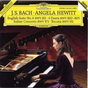Angela Hewitt - J.S.Bach: Italian Concerto, Toccata, Four Duets, English Suite (1986)
