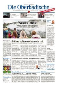 Die Oberbadische - 07. Oktober 2019