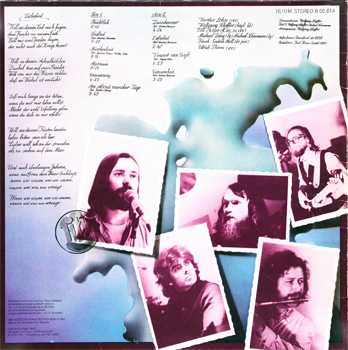 Lift - Spiegelbild (Amiga 8 55 814) (GDR 1981) (Vinyl 24-96 & 16-44.1)