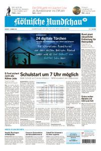 Kölnische Rundschau Euskirchen – 01. Dezember 2020