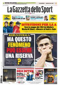 La Gazzetta dello Sport Roma – 18 aprile 2020