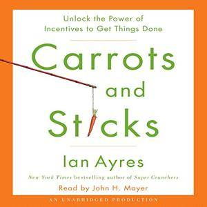 Carrots and Sticks: Unlock the Power of Incentives to Get Things Done [Audiobook]