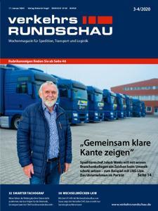VerkehrsRundschau - 14. Januar 2020