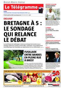 Le Télégramme Brest Abers Iroise – 29 août 2019