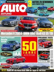 Auto Zeitung – 18. September 2019
