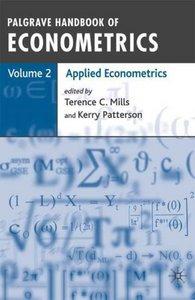 Palgrave Handbook of Econometrics: Volume 2: Applied Econometrics