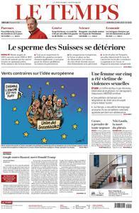 Le Temps - 22 mai 2019