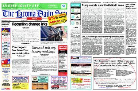 The Laconia Daily Sun – May 25, 2018