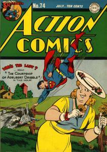 Action Comics 74 (DC) (1944-07)