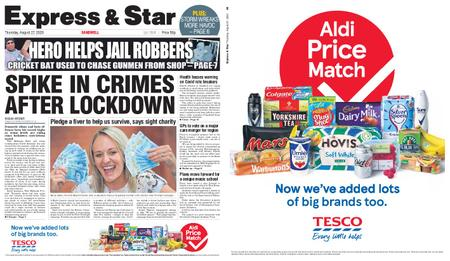 Express and Star Sandwell Edition – August 27, 2020