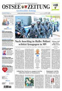 Ostsee Zeitung Greifswalder Zeitung - 10. Oktober 2019