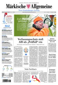 Neue Oranienburger Zeitung - 16. Januar 2019