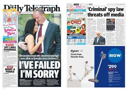 The Daily Telegraph (Sydney) – February 08, 2018