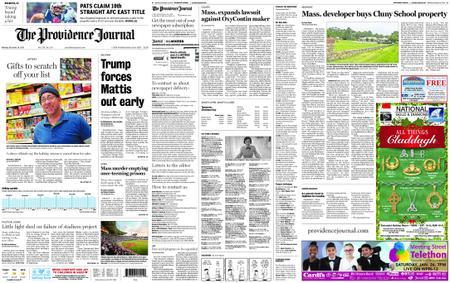 The Providence Journal – December 24, 2018
