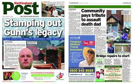 Nottingham Post – August 03, 2018