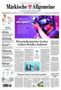 Märkische Allgemeine Luckenwalder Rundschau - 22. August 2018
