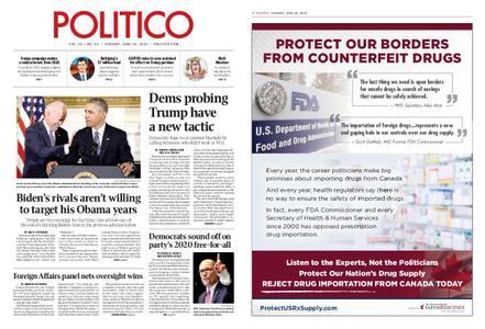 Politico – June 18, 2019