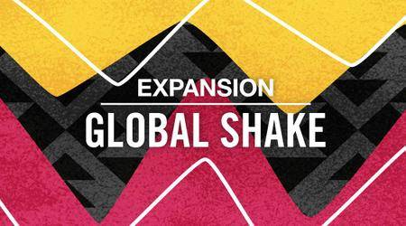 Native Instruments Maschine Expansion Global Shake MASCHINE