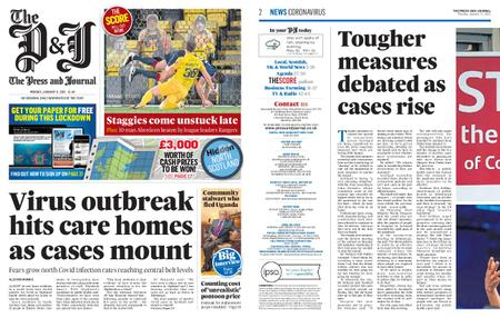 The Press and Journal Moray – January 11, 2021