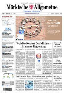 Märkische Allgemeine Zossener Rundschau - 09. Februar 2018