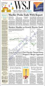 The Wall Street Journal – 23 March 2019