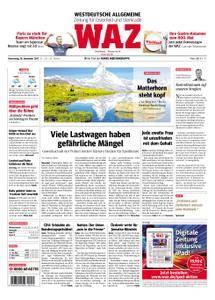WAZ Westdeutsche Allgemeine Zeitung Oberhausen-Sterkrade - 28. September 2017