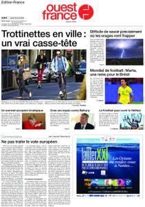 Ouest-France Édition France – 20 juin 2019