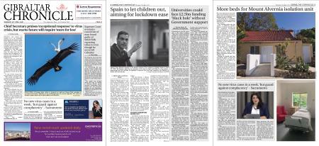 Gibraltar Chronicle – 23 April 2020