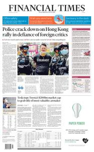 Financial Times Europe - July 2, 2020