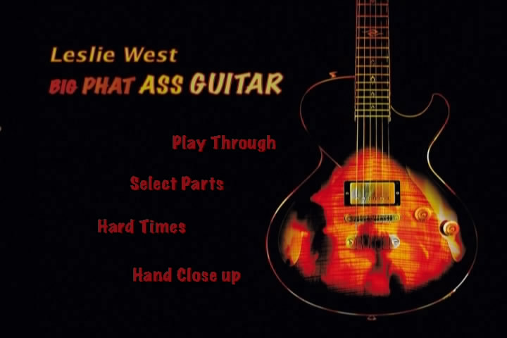 Leslie west big phat ass guitar — 7