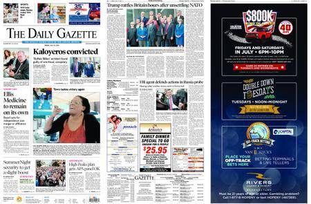 The Daily Gazette – July 13, 2018
